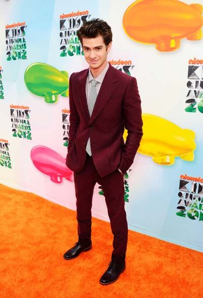 Kid's Choice Awards 2012 - Celebrity Moments - Andrew Garfield