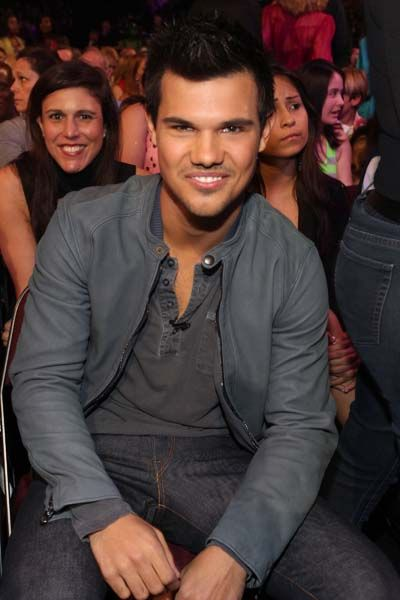 Kid's Choice Awards 2012 - Celebrity Moments - Taylor Lautner in the audience -sexy