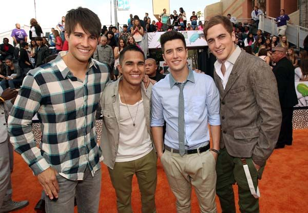 Kid's Choice Awards 2012 - Celebrity Moments - Big Time Rush