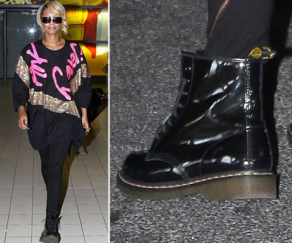 Top Celebrity Footwear - Kerry Hilson