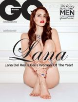 Lana Del Rey Stands Naked As GQ's Woman Of The Year