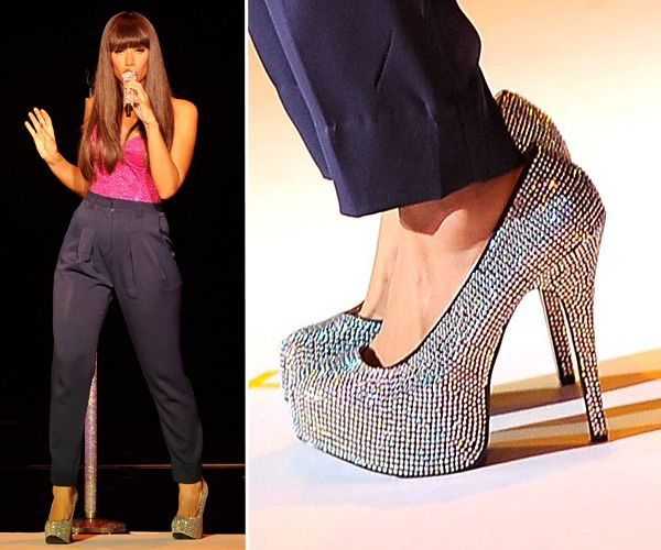 Top Celebrity Footwear - Leona Lewis
