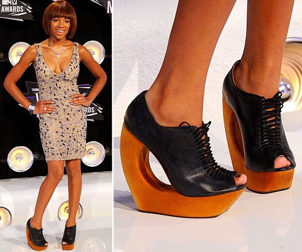 Top Celebrity Footwear - Lil Mama