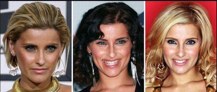 Celebrity Long to Short Hair Transformations - Nelly Furtado