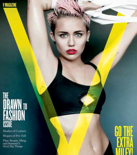 Miley Cyrus Brings Sexy In V Magazine - Miley Cyrus in her sexiest photoshoot yet - She's all grown up.