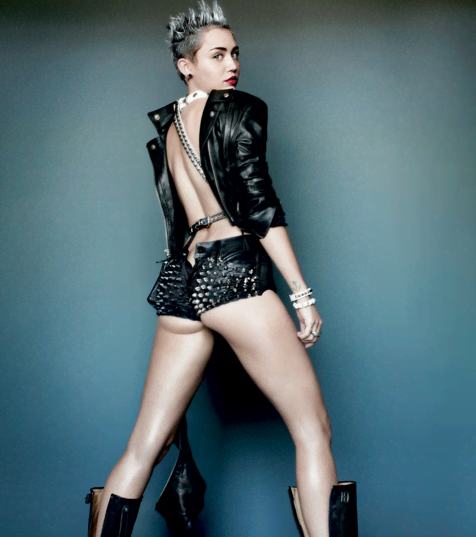 Miley Cyrus Brings Sexy In V Magazine - Miley Cyrus is becoming a master of changing images