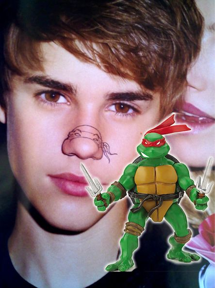 Celebrity Mutant Teenage Ninja Noses - Celebrity Mutant Teenage Ninja Noses