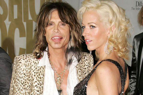 Cutest New Just Engaged Couple - Steven Tyler and Erin Brady