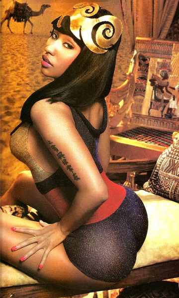 Nicki Minaj Booty Pictures - An Arabic princess - this is Minaj exotic at its best
