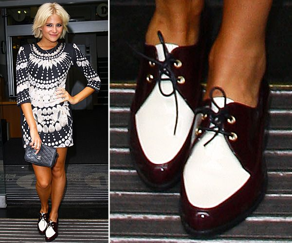 Top Celebrity Footwear - Pixie Lott