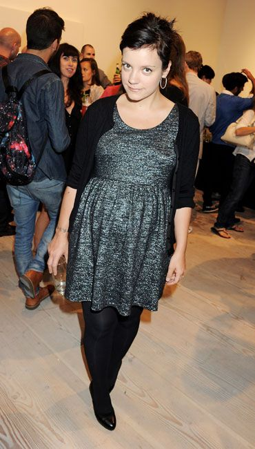 Pregnant Celebrities of 2010/2011 - Lily Allen recently just got married in June while at the same time announcing she was about 12 weeks pregnant. Great news after the heartbreaking miscarriage she had late last year.
