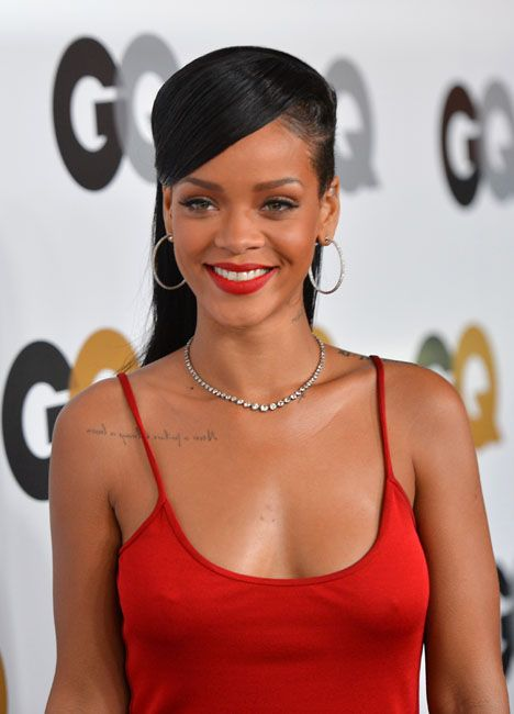 Rihanna GQ Men Of The Year Event - Rihanna on the red carpet at the GQ Men Of The Year Event 2012 - Los Angeles