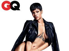 Rihanna Topless For December GQ Magazine - Bold Bold Bold!