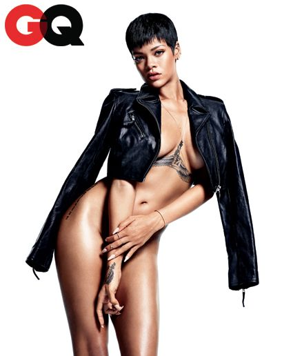 Rihanna Sizzles Behind The Scenes On GQ Shoot