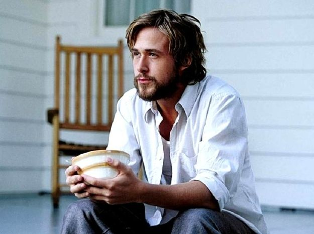 Ryan Gosling Beard-O-Rama - A little oatmeal in the morning always helps a beard