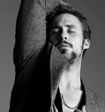 Ryan Gosling Beard-O-Rama - Time for some deodorant