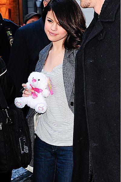 Evolution Of Selena Gomez - Selena Gomez visits 'Good Morning America' on February 11, 2010, in New York City.
