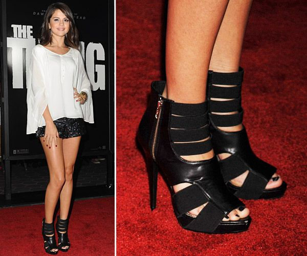 Top Celebrity Footwear - Selena Gomez