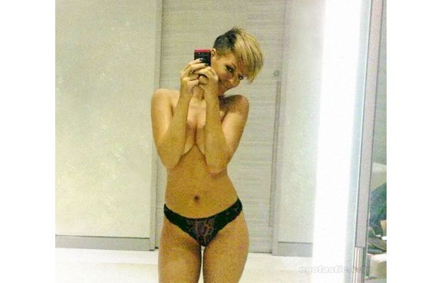 Sexiest Phone Self Portraits - Rihanna
