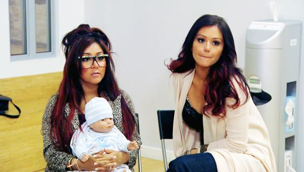 Snooki Introduces the World To Lorenzo Dominic LaValle - Snooki and Jwoww tackle birthing class