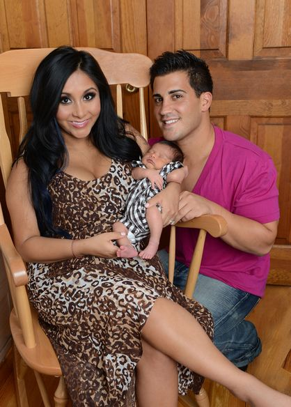 Snooki Introduces the World To Lorenzo Dominic LaValle - Snooki and Jionni introduce Lorenzo Dominic LaValle to the world.