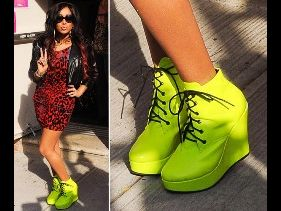 Top Five Rocking Celeb Footwear