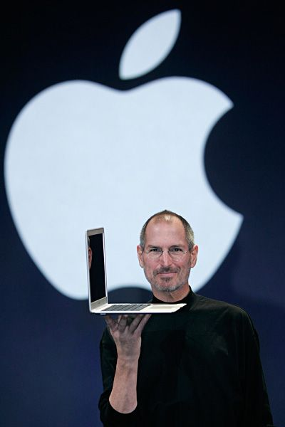 Steve Jobs Legacy 1955 - 2011 - Laptops weren't all that comfortable for our laps, until 2008 when Jobs brought the world the lightest, thinnest laptop computer ever: the MacBook Air