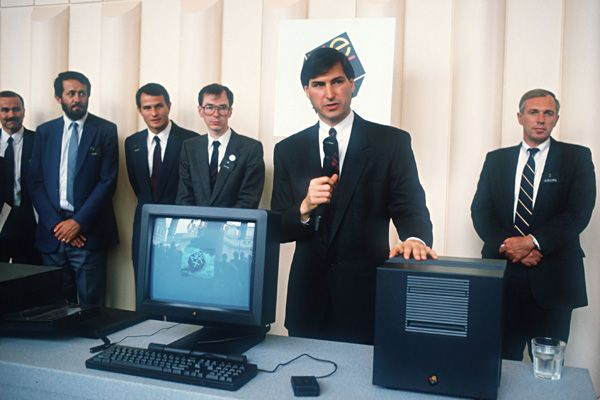Steve Jobs Legacy 1955 - 2011 - Jobs left Macintosh in 1988 to pursue his ventures in NeXT Computer