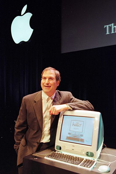 Steve Jobs Legacy 1955 - 2011 - Jobs returned to Macintosh in 1998 as the interim CEO and presented the world's first iMac computer