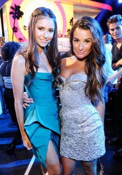 Teen Choice Awards 2012 - Nina Dobrev and Lea Michele
