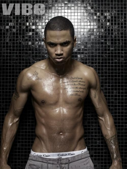 Top Celebrity Abs - Sexxxy Stomachs - aaah! - Trey Songz - not only can he sing...