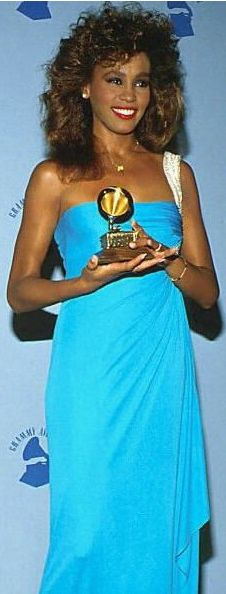 Whitney Houston | Timeline - 1963 to 2012 - Whitney Houston - 1986 - at the Grammy Awards