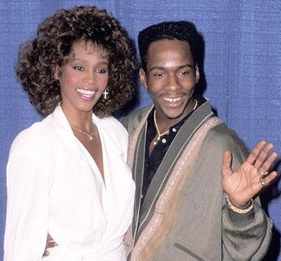 Whitney Houston | Timeline - 1963 to 2012 - Whitney Houston - 1990 - with Bobby Brown