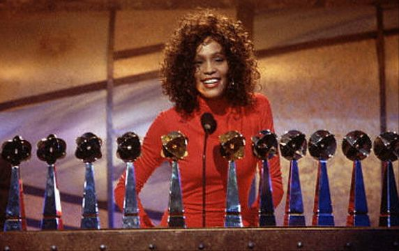 Whitney Houston | Timeline - 1963 to 2012 - Whitney Houston - 1993 - wins 11 Billboard Music Awards