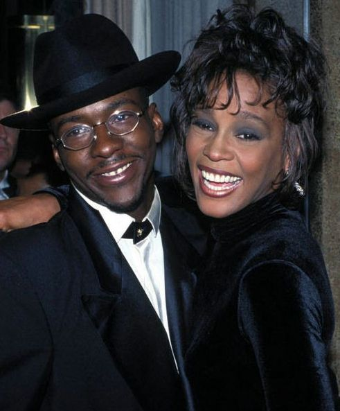 Whitney Houston | Timeline - 1963 to 2012 - Whitney Houston - 1995 - with Bobby Brown
