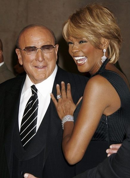 Whitney Houston | Timeline - 1963 to 2012 - Whitney Houston - 2006 - with Clive Davis