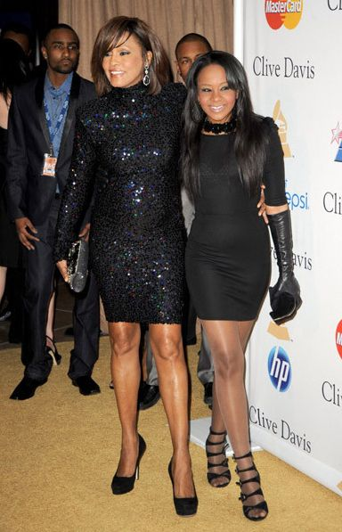 Whitney Houston | Timeline - 1963 to 2012 - Whitney Houston - 2011 - with her daughter