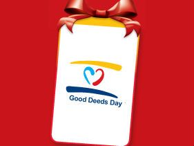 Give the Gift of Yourself on Good Deeds Day