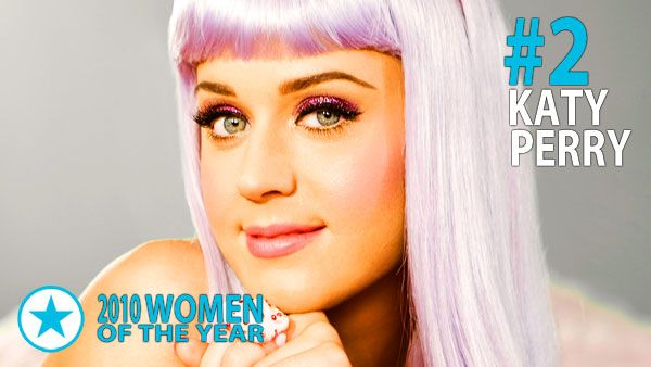 Men & Women of 2010 - Woman of the Year #2: Katy Perry. From the moment her