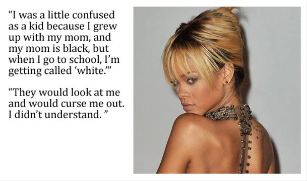 10 Top Pop Stars Bullied As A Kid - Rihanna