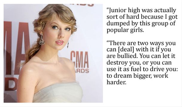 10 Top Pop Stars Bullied As A Kid - Taylor Swift