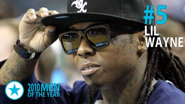 Men & Women of 2010 - Man of the Year #5: Lil Wayne. Not even eight months in prison could keep Weezy off our list. His album I Am Not a Human Being debuted at #2 on the Billboard albums chart based on digital sales alone. Following its physical release, it topped the chart.